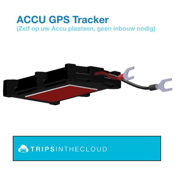 GPS met plakstrip